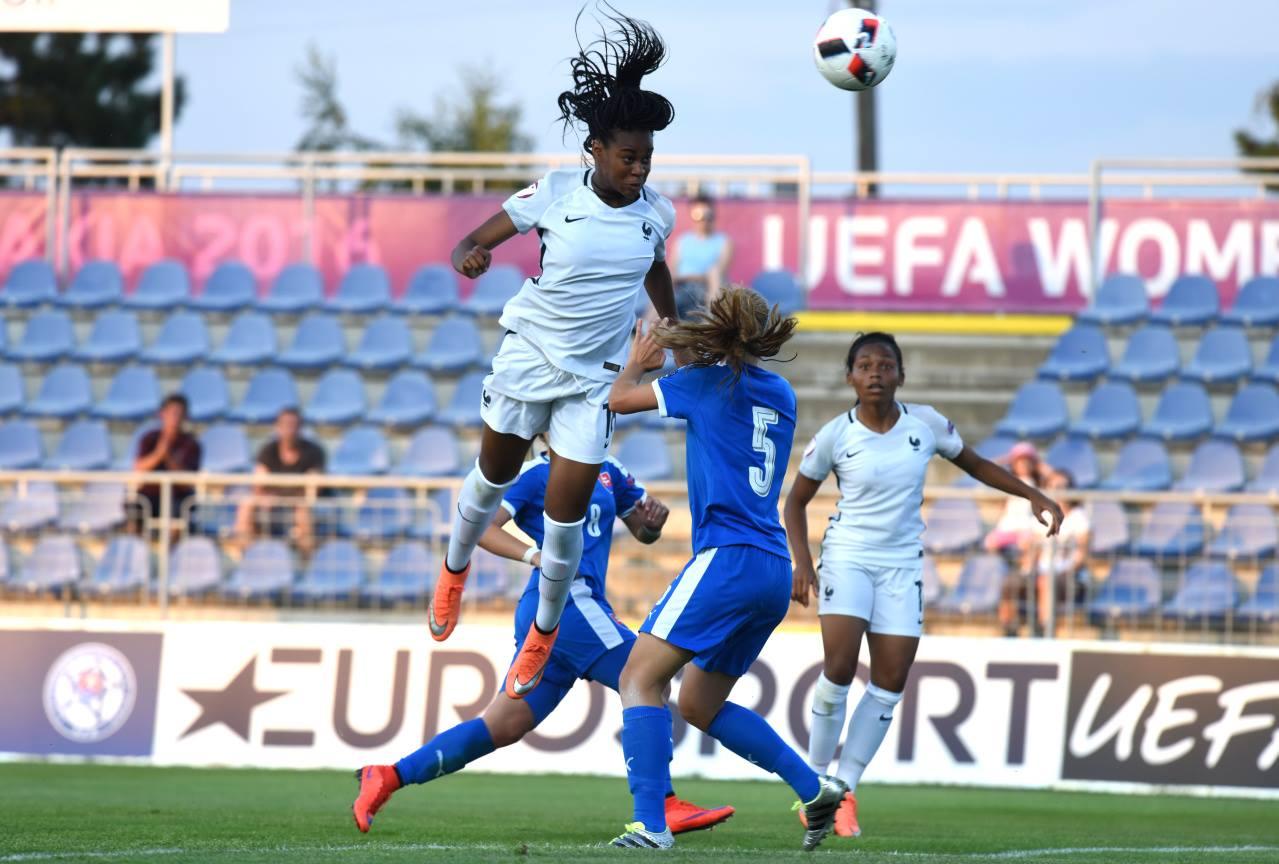 Euro U19 - Les bleuettes réagissent face à la SLOVAQUIE (6-0)