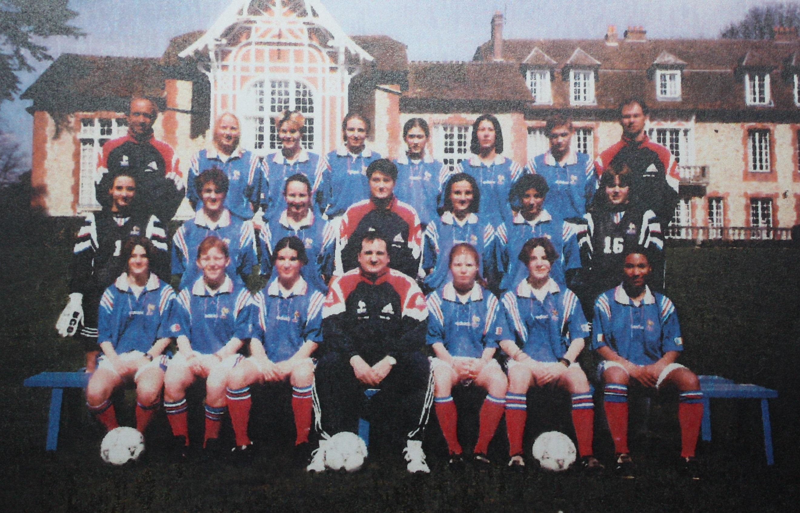 La sélection finaliste de l'Euro en 1998 (archive DR)