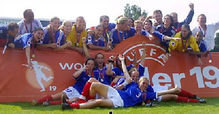 #EuroU19F - Trois générations déjà championnes d'Europe U19F