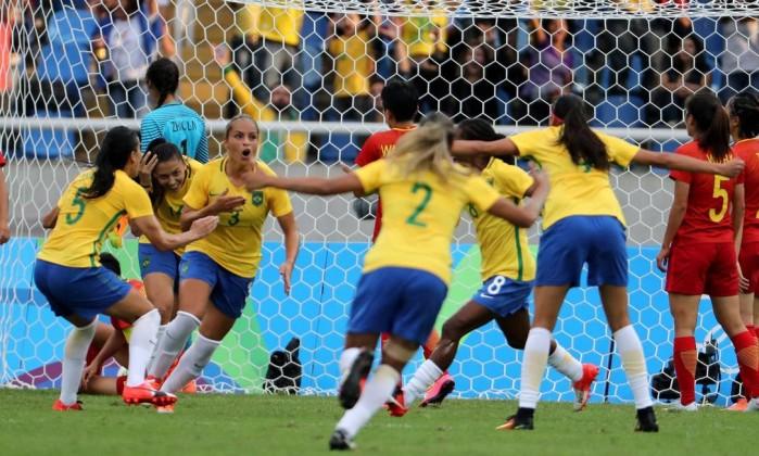 Mônica a montré la voie du succès (photo AP)