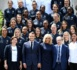 Bleues - Le Président de la République à la rencontre de la sélection