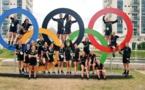 Les Néo-Zélandaises ont investi le village olympique les premiers jours avant les Jeux (photo NZS)