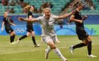 Le Sommer a mis trois minutes pour marquer (photo FIFA.com)
