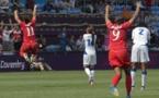 Coventry, 9 août 2012, le Canada s'impose à la 92e minute (photo Eric Baledent/LMP)