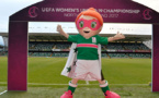 La mascotte de l'Euro U19 en août 2017 en Irlande du Nord
