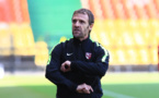 David Fanzel, l'entraîneur messin, entame sa deuxième saison au club (photo FC Metz)
