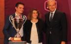 Jérôme Papin (Eurosport), Marinette Pichon et Daniel Bilalian (France TV) (photo Sébastien Duret)