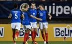 Lavogez a ouvert le score après 95 secondes de jeu (photo AFP)