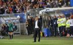 Echouafni a vécu le match debout (photo FFF)
