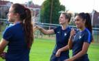 Sakina Karchaoui était avec les U20 vendredi à Amanvillers mais n'a pas pris part au match (photo Ligue Lorraine)