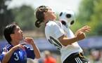 Caroline La Villa et les mini-Bleues seront sur le terrain dès octobre (photo : uefa.com)
