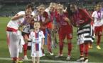 Kumagai, Abily, Petit, Le Sommer et Mbock sont du voyage en Norvège (photo UEFA.com)