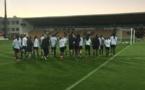 Les Parisiennes ont effectué une séance la veille du matchs sur le terrain (photo PSG)