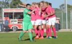 Maillot rose, et victoire face aux Vertes pour Montpellier (photo MHSC)