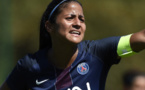 La capitaine parisienne Shirley Cruz (photo PSG.fr)