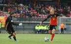 Janice Cayman et la Belgique disputeront la Cyprus Cup en 2017 après avoir joué l'Algarve Cup en 2016 (Sportpix.be/Dirk Vuylsteke)