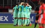 A Twente, le Barça n'a pas tremblé (photo FCB)