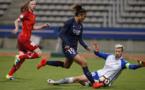 Cristiane n'a pas marqué mais a offert le deuxième but à Sarr (photo TeamPics/PSG.fr)