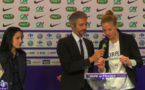 Le tirage au sort était animé par Romain Balland (Eurosport)