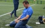 Stéphane David, genoux à terre (photo PQR/OF)