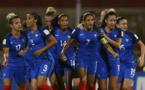 La rage de Delphine Cascarino (photo FIFA.com)