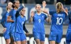 Houara d'Hommeaux, Le Sommer et Abily (photo AFP)