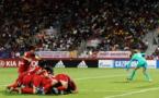 La rage de Chavas contraste avec la joie nord-coréenne (photo FIFA.com)