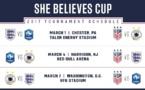 SheBelieves Cup - Le programme de la deuxième édition : ANGLETERRE - FRANCE pour débuter