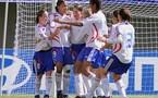 La joie tricolore après le but de Marie-Laure Delie (foot-net)