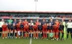 Les équipes avant Montpellier - Chine (photo MHSC)