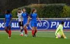 Baltimore, Lakrar, Deslandes et Lerond désappointées après le premier but allemand (photo Sébastien Duret)