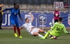 Mbock et Bouhaddi auront été en grande difficulté en première période (photo FA)