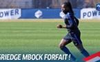 Bleues - Deuxième forfait en défense : MBOCK forfait après HOUARA D'HOMMEAUX