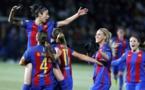 La joie des Barcelonaises (photo Miguel Ruiz/FCB)