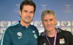 Les deux entraîneurs Kellermann et Prêcheur se retrouvent ce soir pour le quart de finale aller (photo OLweb.fr)