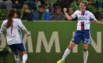 La joie d'Abily (photo UEFA.com)