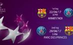 Ligue des Champions (Demi-finale) - PSG face au FC BARCELONE au Parc des Princes et l'OL face à CITY au Parc OL le 29 avril