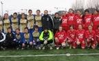 Les équipes de Liévin et Angoulême