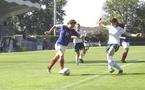 Tonazzi face à l'Irlande en 2005 fait son retour en Bleue (photo : Sébastien Duret)