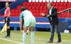Patrice Lair a félicité le travail de ses joueuses, justement récompensées (photo TeamPics/PSG)