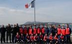 L'équipe de France à Toulon (photo : Denis Dujardin)