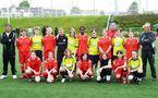 Les équipes de Rouen et Hénin-Beaumont (photo : Supp'Rouen)