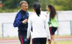 Patrice Lair en compagnie de Shirley Cruz (photo PSG.fr)