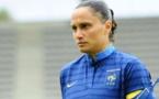 Ophélie Meilleroux sous le maillot bleu