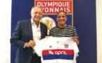 La championne d'Europe Shanice van de Sanden à l'OL