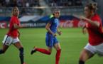 Abily a ouvert le score en tout début de match (photo FFF)