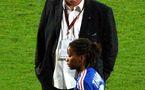 La déception du sélectionneur après l'élimination face aux Pays-Bas (photo : Viola/fansoccer)