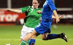 McKenna face à l'Islandaise O. Vidarsdottir (photo : IFA)