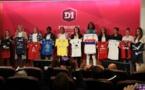 Les capitaines lors de la présentation de la D1F (photo Antonio Mesa/FFF)