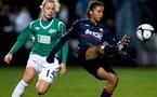 Elodie Thomis inscrit le seul but (Anders Kjaerbye/fodboldbilleder.dk)